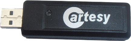 Cartesy USB-Funk-Empfänger SUB-1020