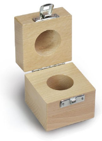Holzetui, 1 x 50 g F2 + M1, Buche