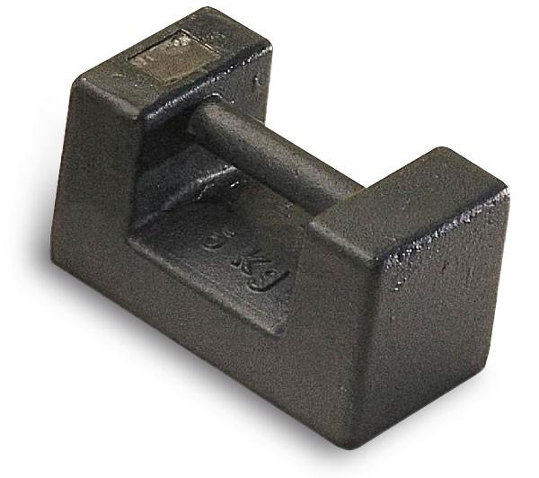 M1 Blockgewicht, Gusseisen lackiert