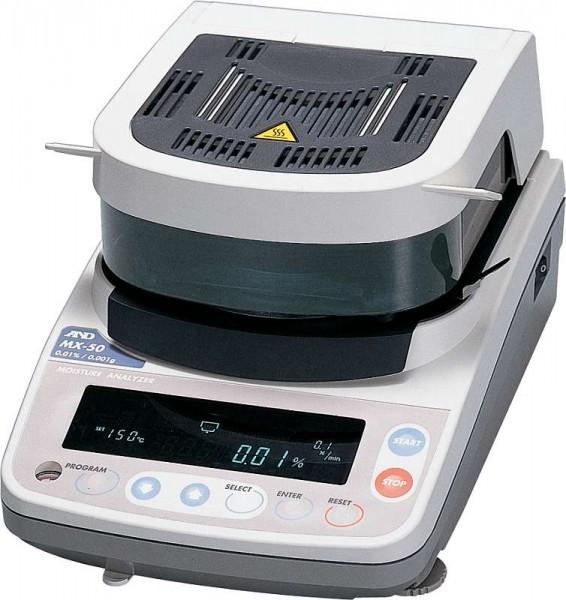 Feuchtebestimmer A&D MX-50