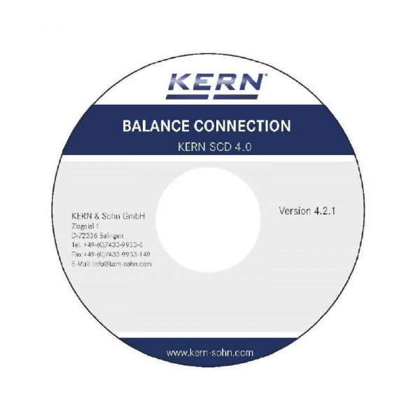 Software Kern Balance Connection